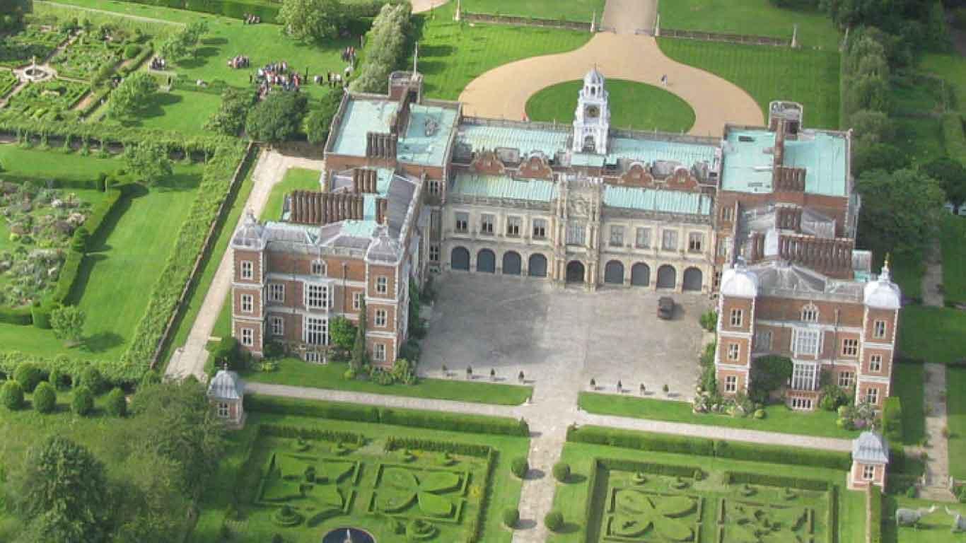 UK travel Experiences. Hatfield House, Hertfordshire, England.