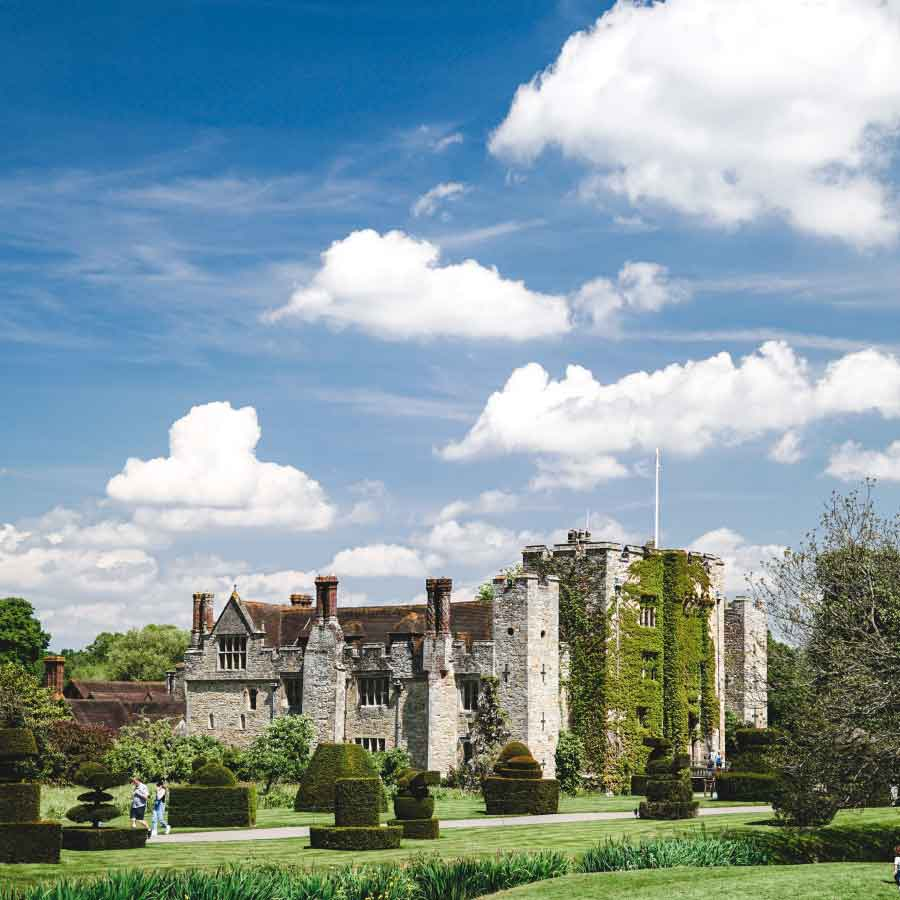 British famous palaces on film