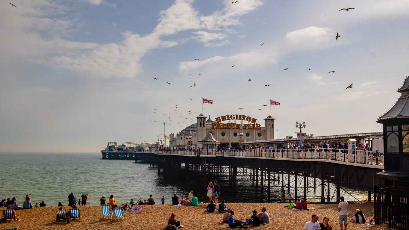 Holidays in Brighton. The Pier