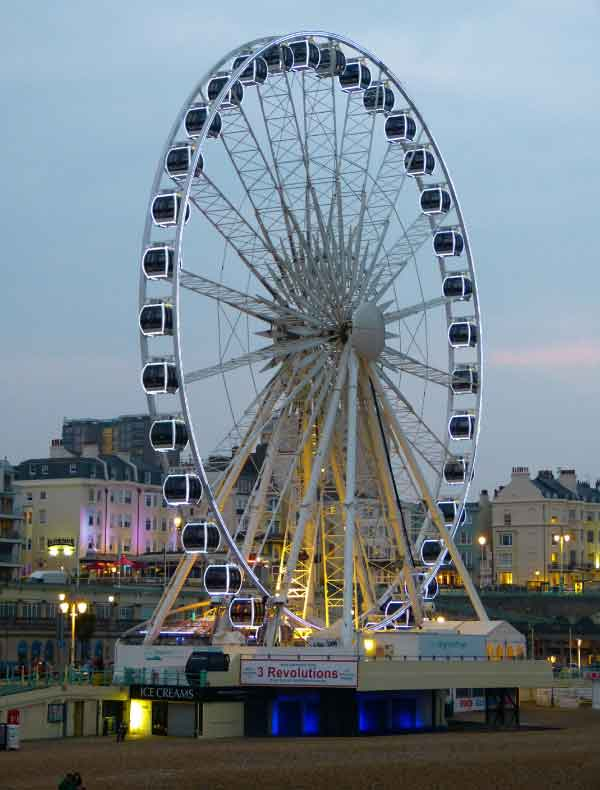 Ferris Wheel on Brighton Beach