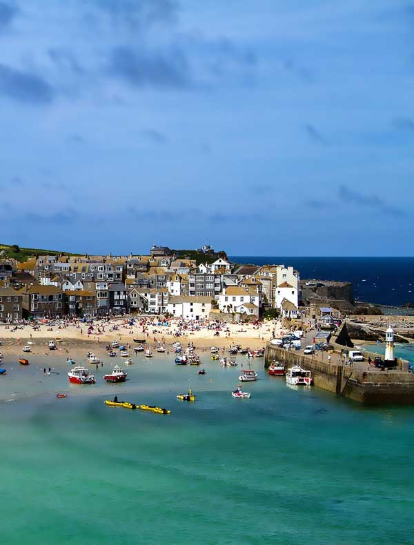 St Ives, Cornwall. A beautiful coastal town teaming with art galleries and cultural life