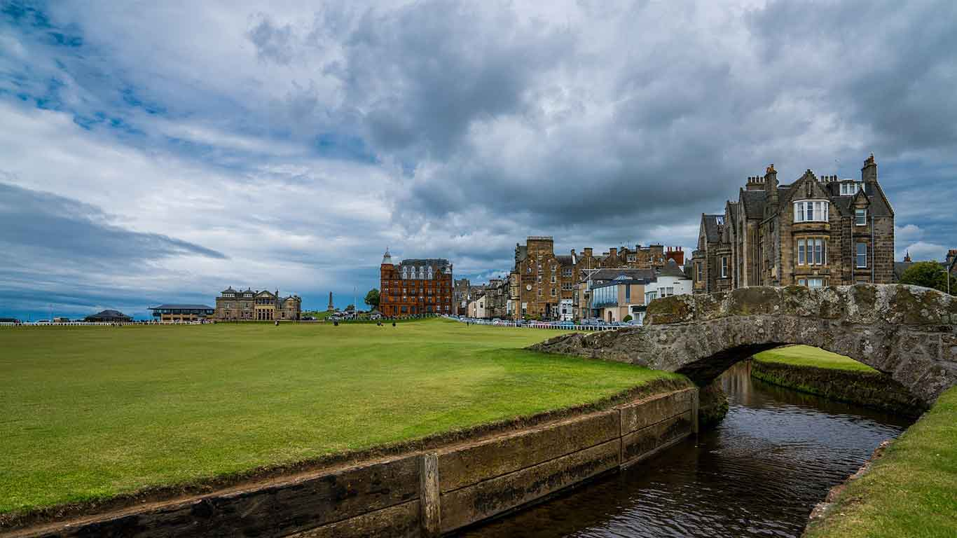 St Andrews, Scotland. Architecture
