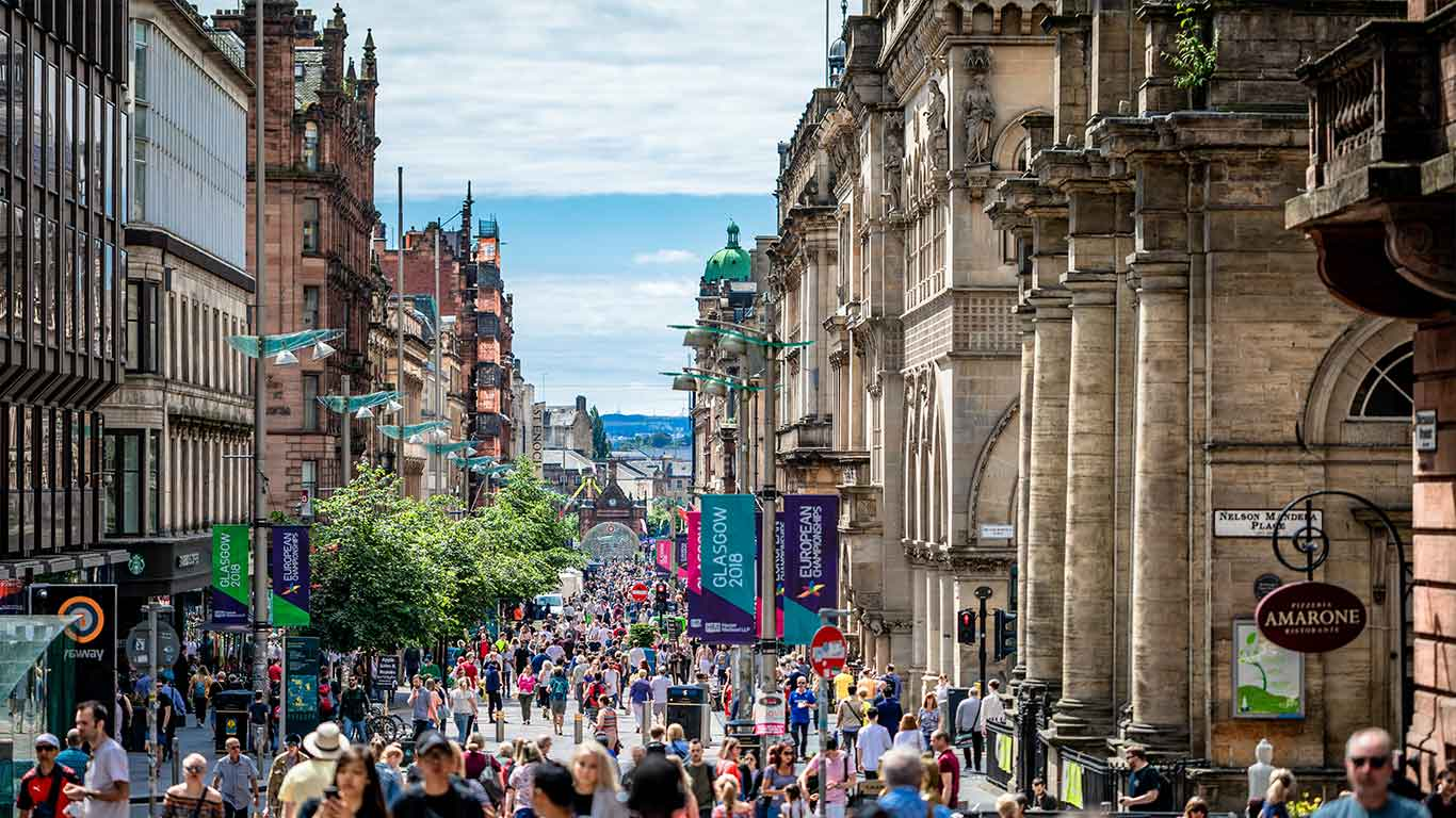 Voted one of the friendliest cities in the world, Scotland's biggest city is a stylish mix of arts, culture and unique Celtic charm.