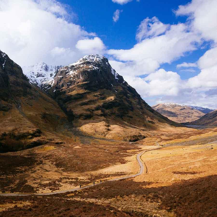 Best of the Scotish Highlands. Glen Coe