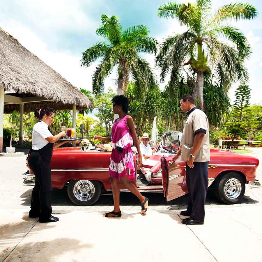 Holidays in Havana, Cuba.