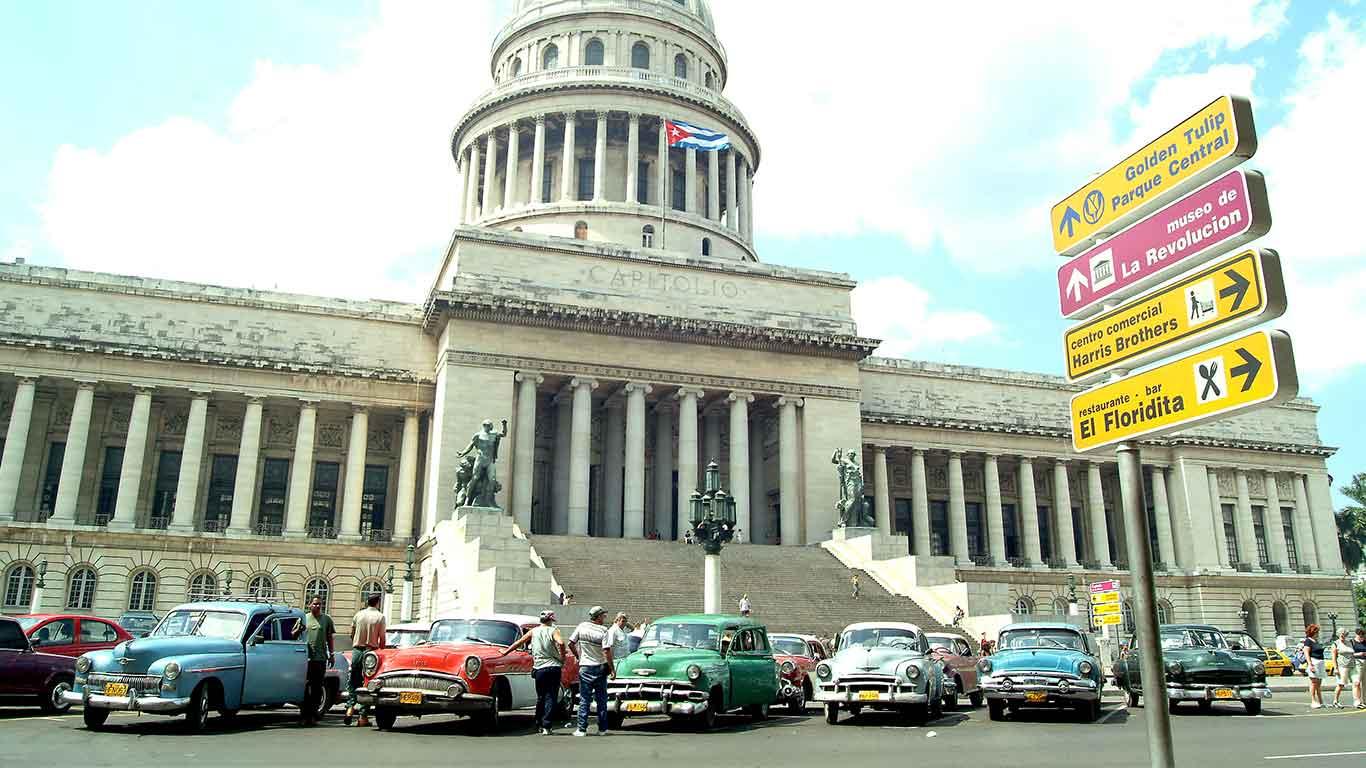 Classic American Car Tours, Havana, Cuba
