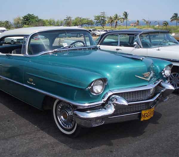 1958 Cadillac in Havana, Cuba