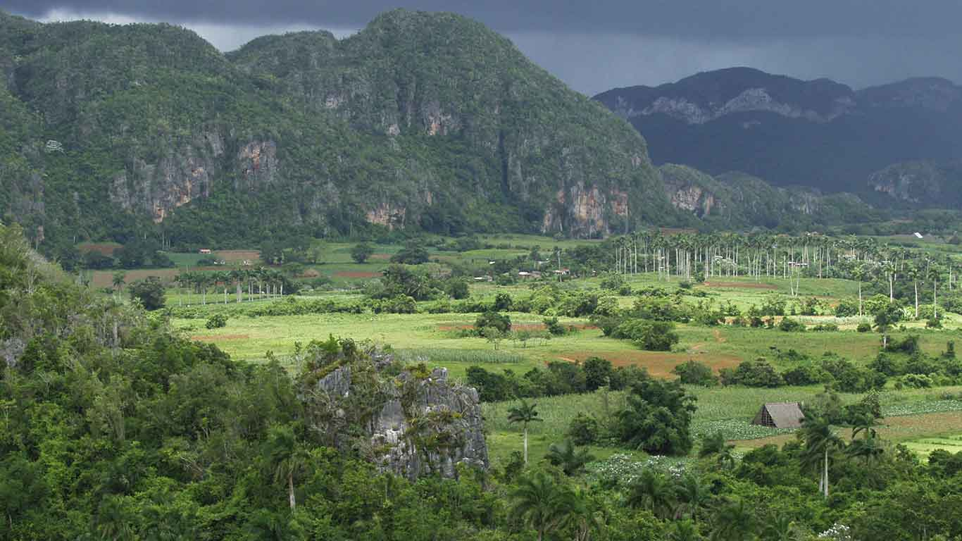 A UNESCO World Heritage site, the Valley of Vinales is an unmissable destination in Cuba