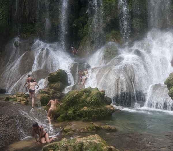 El Nicho waterfalls, Cienfuegos, Cuba
