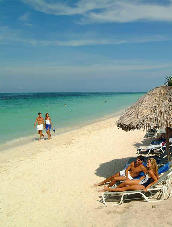The beach at Cayo Coco, Cuba