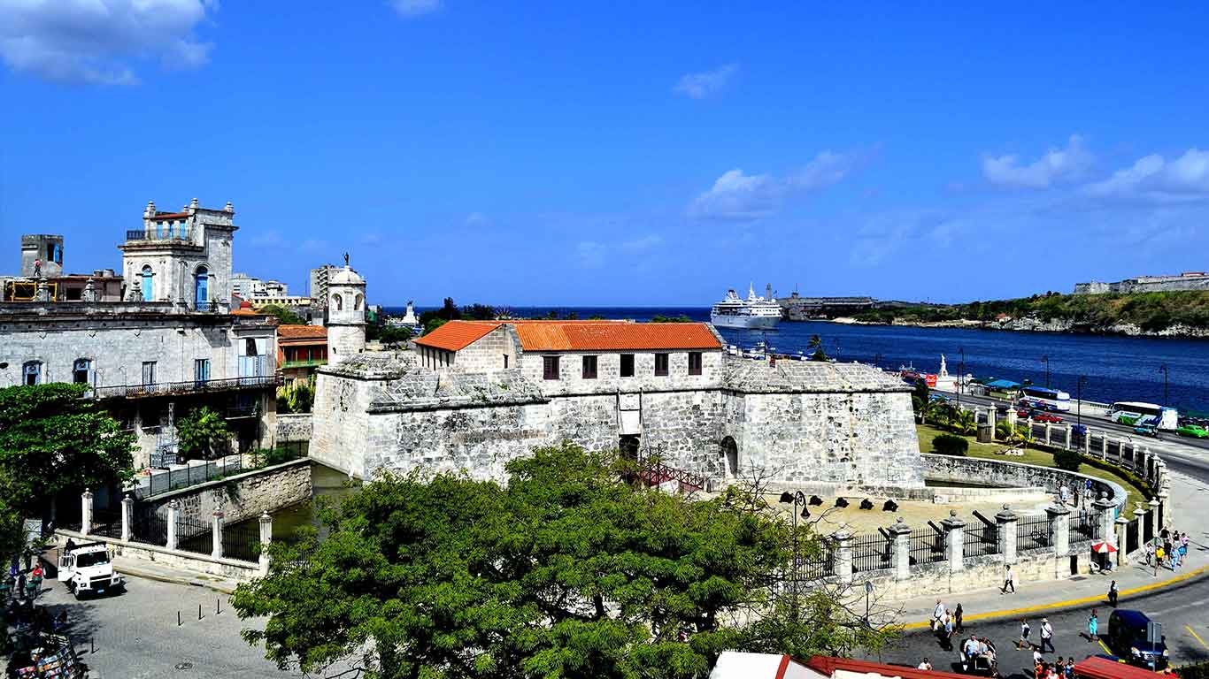 Old Havana and its fortification system. UNESCO World Heritage Site since 1982