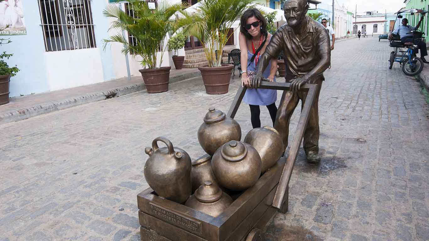 "Camaguey, the ""city of the clay jars"", is an off-the-beaten-track little gem well worth a visit en-route to Holguin, Guardalavaca, or Santiago de Cuba"