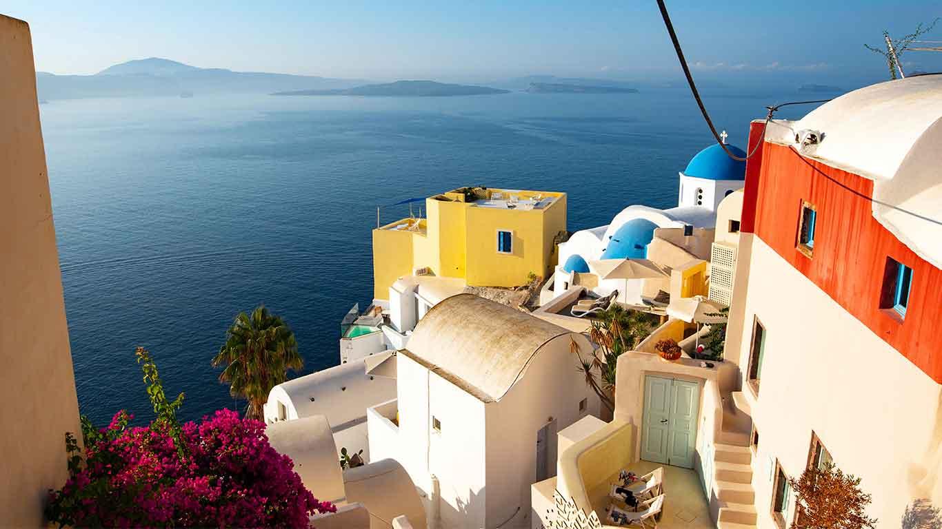 Holidays in Greece. Greece Destination Guide, Cyclades Islands
