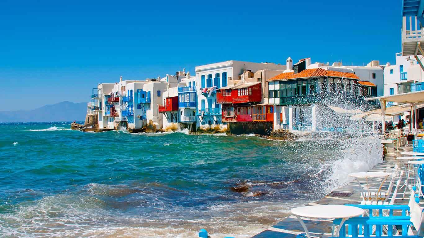 Holidays in Greece. Greece Destination Guide, Mykonos
