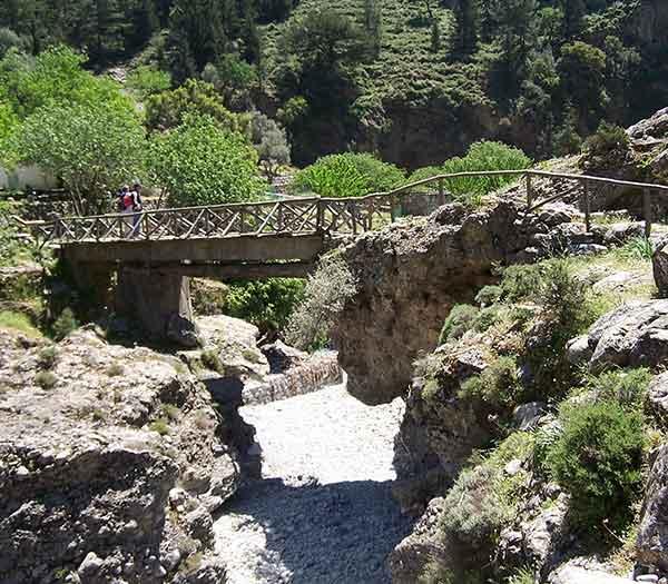 Samaria Gorges, Crete, Greece