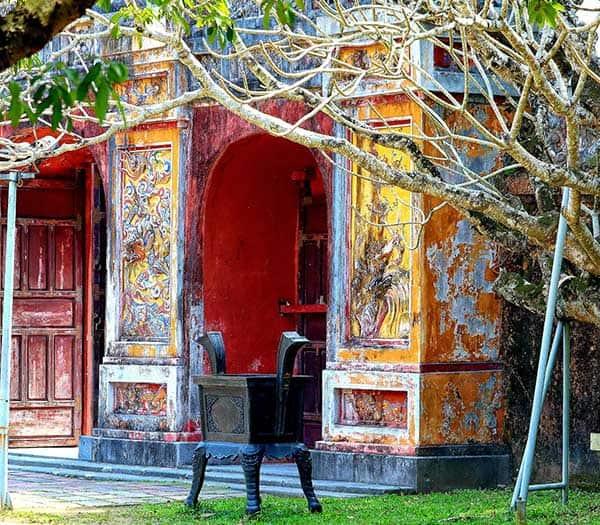 Holidays in Vietnam. Hue