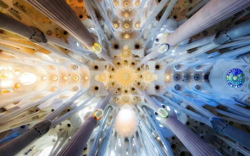Sagrada Familia Gaudi's Interior