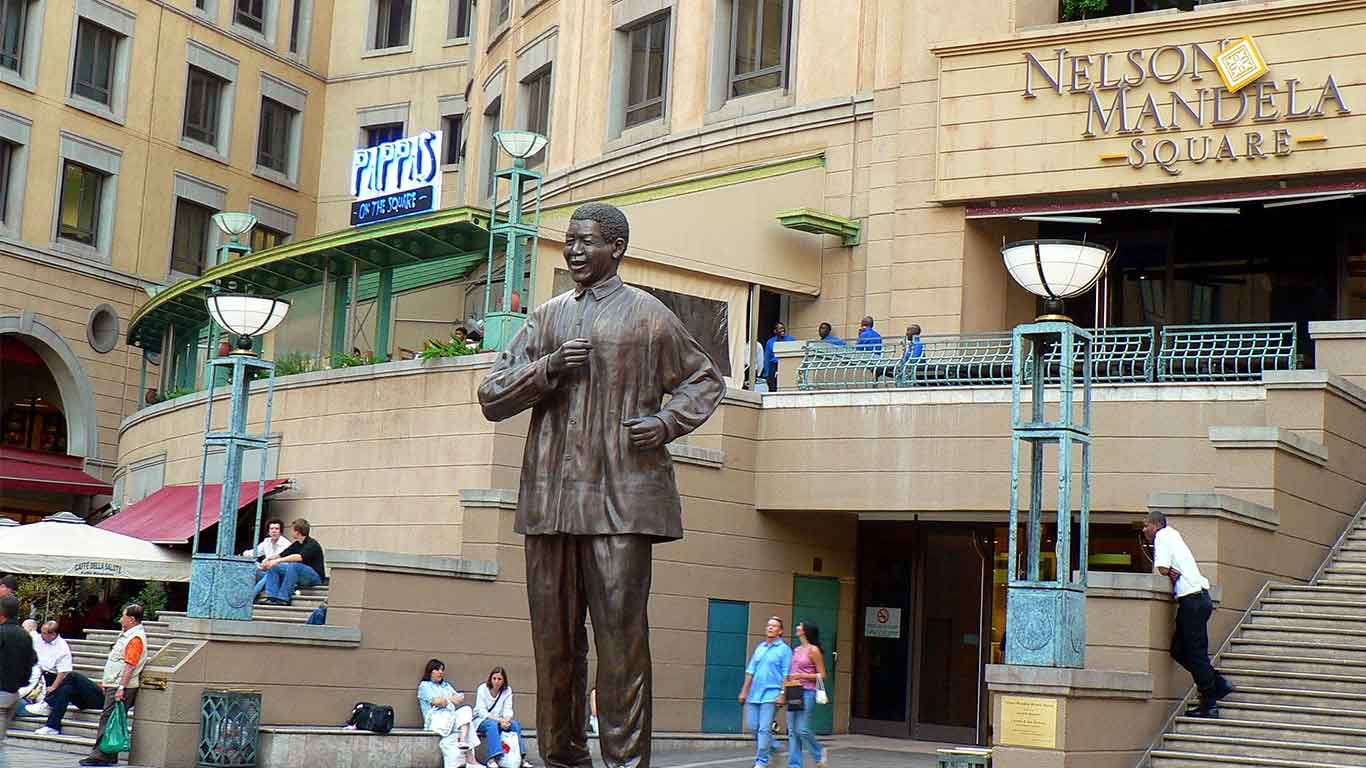 High on the list of most visitors to Joburg is a visit to Soweto's Vilakazi Street, the iconic place where Nelson Mandela lived (the house is now a museum) and Archbishop Tutu still lives.