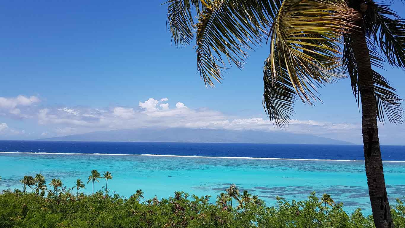 Moorea, holidays in the French Polynesia