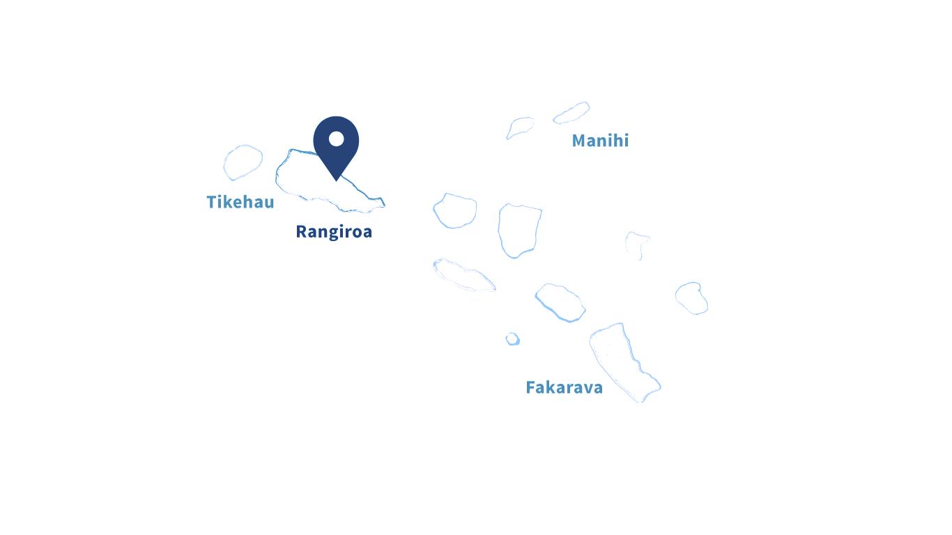 French Polynesia Map. Tuamotu Islands