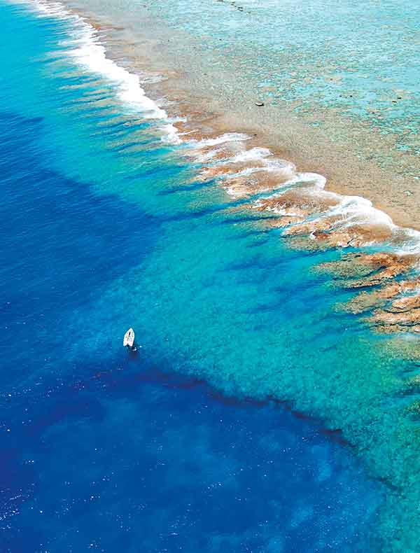 Holidays in Tetiaroa, The Brando. French Polynesia