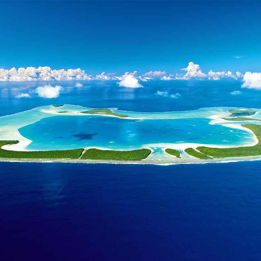 Holidays in Tetiaroa, The Brando. French Polynesia