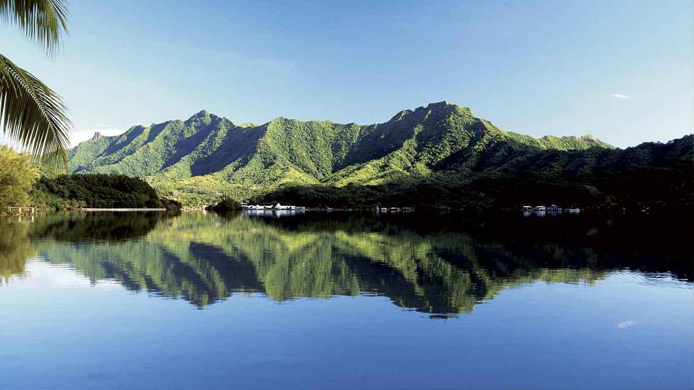 Taha'a Island holidays, Islands of Tahiti, French Polynesia