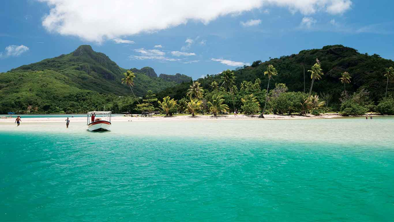 Maupiti Island holidays, Islands of Tahiti, French Polynesia