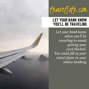 Travelisto.com Travel Tips to get travel ready 03