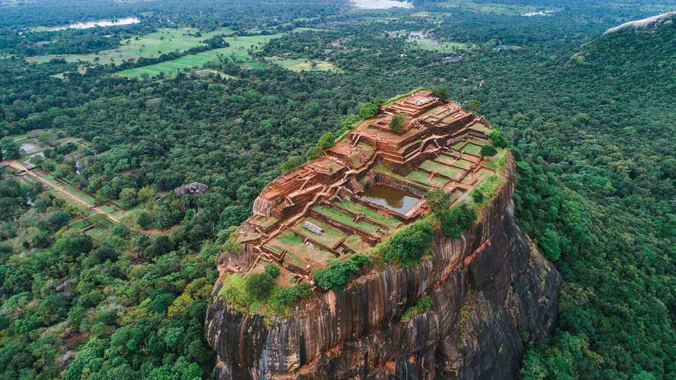 Holidays in Sri Lanka. Destinations Guide, Sigiriya