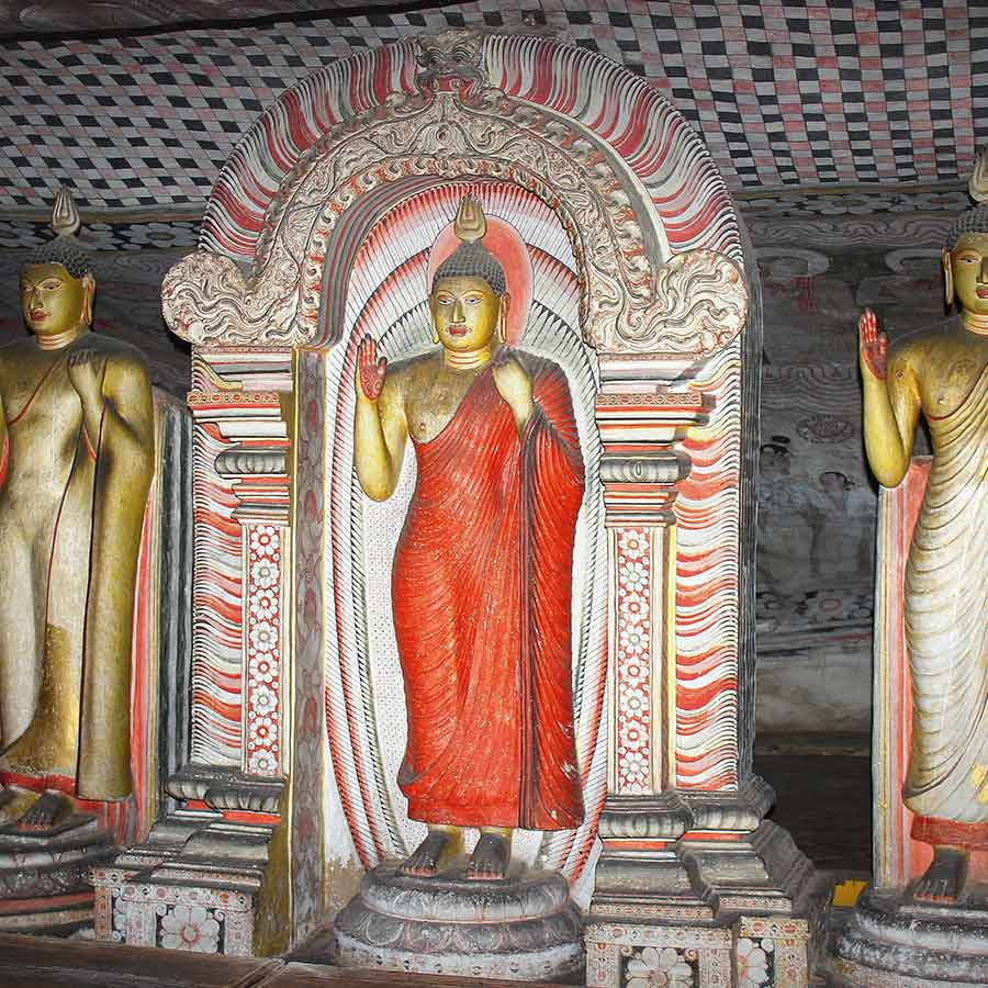 Holidays in Sri Lanka. Destinations Guide, Dambulla