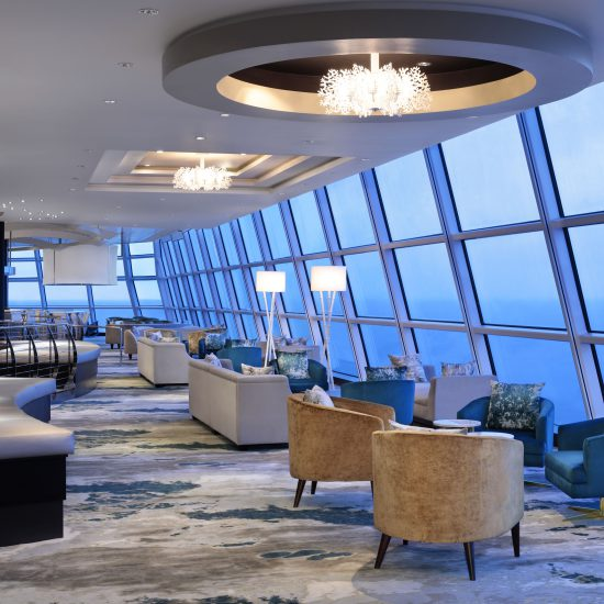 Celebrity Cruise Ship Tour Silhouette Sky Lounge
